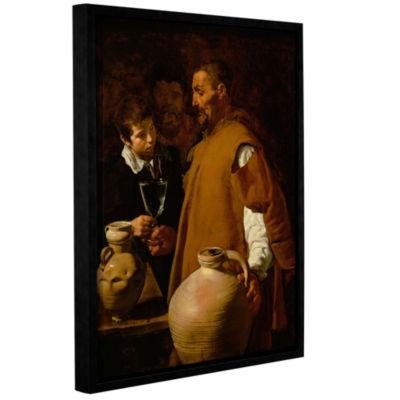 Brushstone Waterseller Of Seville Gallery WrappedFloater-Framed Canvas Wall Art