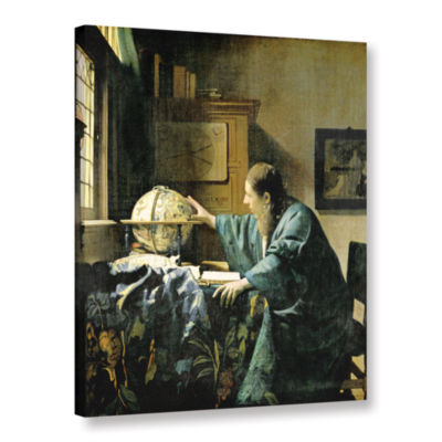 Brushstone The Astronomer Gallery Wrapped Canvas Wall Art