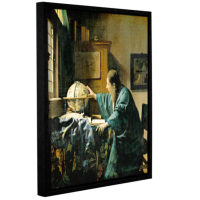 Brushstone The Astronomer Gallery Wrapped Floater-Framed Canvas Wall Art