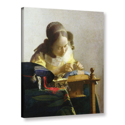 Brushstone The Lacemaker Gallery Wrapped Canvas Wall Art