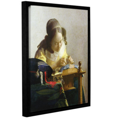 Brushstone The Lacemaker Gallery Wrapped Floater-Framed Canvas Wall Art