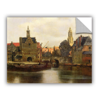 Brushstone View of Delft II Removable Wall Decal