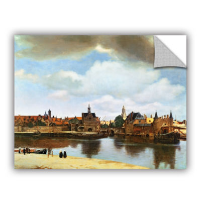 Brushstone View of Delft III Removable Wall Decal
