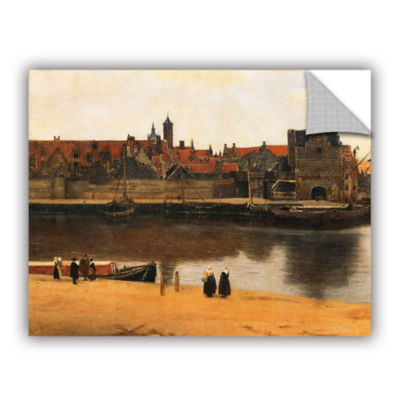 Brushstone View of Delft Removable Wall Decal