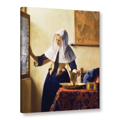 Brushstone Young Woman with a Water Jug Gallery Wrapped Canvas Wall Art