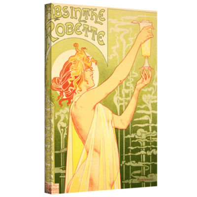 Brushstone Absinthe Robette Gallery Wrapped CanvasWall Art