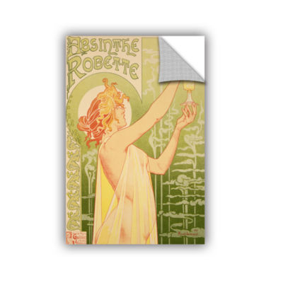 Brushstone Absinthe Robette Removable Wall Decal
