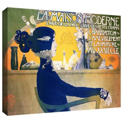Brushstone La Maison Moderne Gallery Wrapped Canvas Wall Art