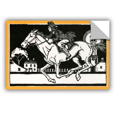 Brushstone The Midnight Ride of Paul Revere 1930 Removable Wall Decal