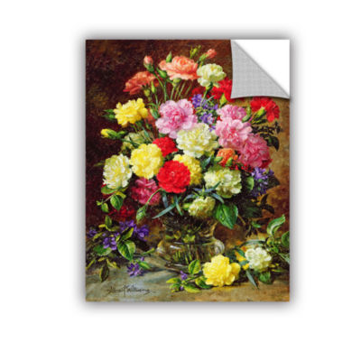 Brushstone Carnations of Radient Colors RemovableWall Decal