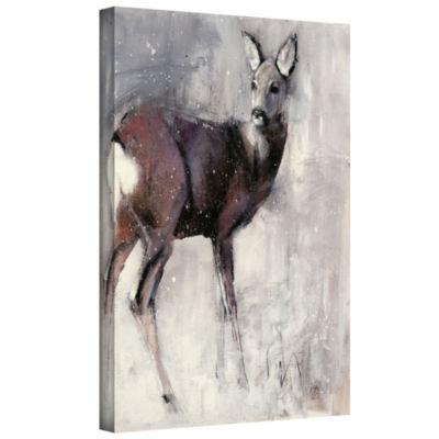 Brushstone Roe Doe Gallery Wrapped Canvas Wall Art