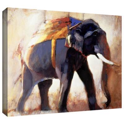Brushstone Shivaji Gallery Wrapped Canvas Wall Art