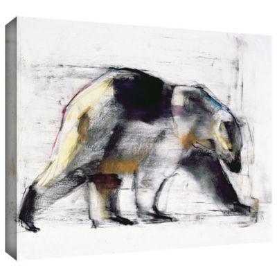 Brushstone Ursus Maritimus Gallery Wrapped CanvasWall Art