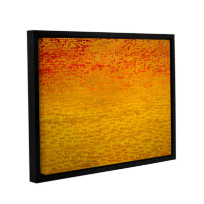 Brushstone About 2500 Tigers  2008 Gallery WrappedFloater-Framed Canvas Wall Art