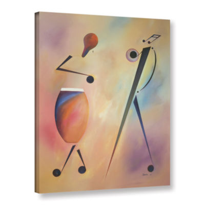 Brushstone Congo Gallery Wrapped Canvas Wall Art