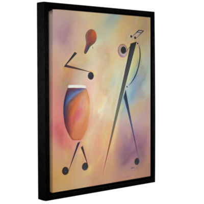 Brushstone Congo Gallery Wrapped Floater-Framed Canvas Wall Art
