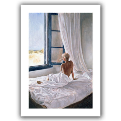 Brushstone Afternoon View Canvas Wall Art