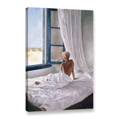 Brushstone Afternoon View Gallery Wrapped Canvas Wall Art