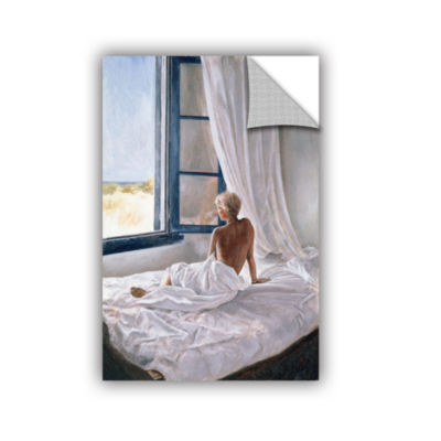 Brushstone Afternoon View Removable Wall Decal
