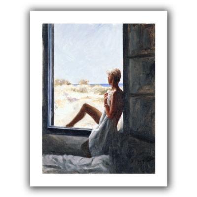 Brushstone Blue Sea Dream Canvas Wall Art