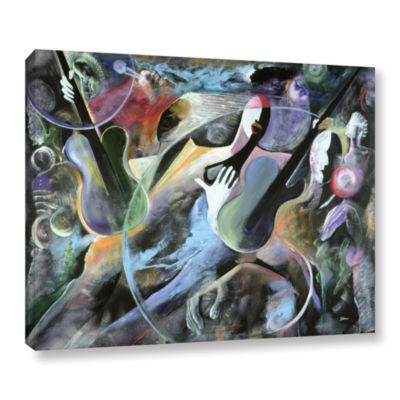 Brushstone Jammin Gallery Wrapped Canvas Wall Art