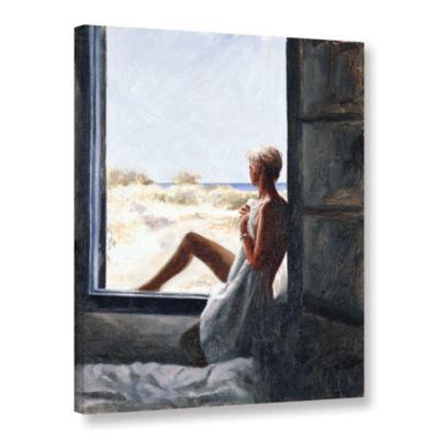 Brushstone Blue Sea Dream Gallery Wrapped Canvas Wall Art
