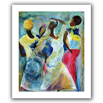 Brushstone Sister Act 2002 Canvas Wall Art