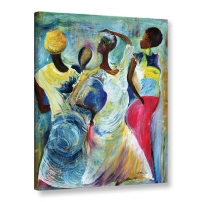 Brushstone Sister Act 2002 Gallery Wrapped CanvasWall Art