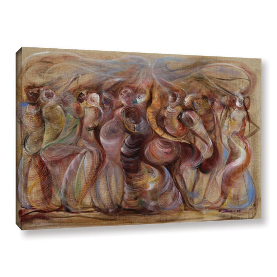 Brushstone Storming Gallery Wrapped Canvas Wall Art