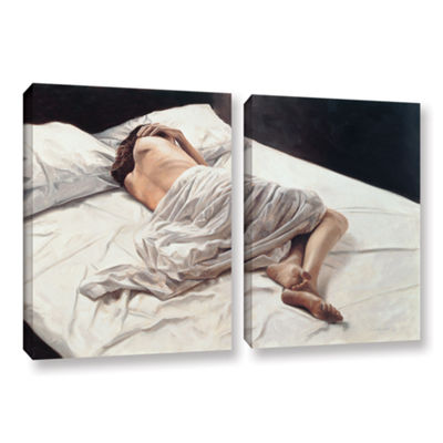 Brushstone Drifting 2-pc. Gallery Wrapped Canvas Wall Art