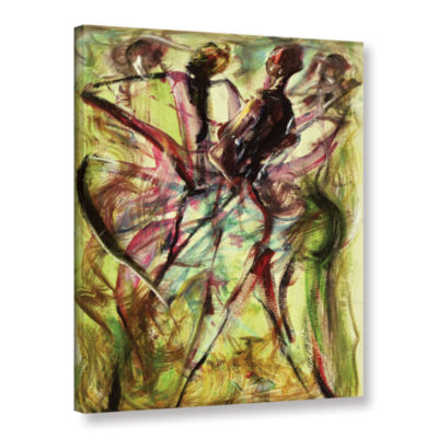 Brushstone Windy Day Gallery Wrapped Canvas Wall Art