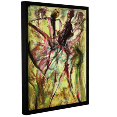 Brushstone Windy Day Gallery Wrapped Floater-Framed Canvas Wall Art