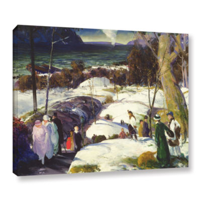 Brushstone Easter Snow  1915 Gallery Wrapped Canvas Wall Art