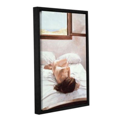 Brushstone Sea Light on Your Body Gallery WrappedFloater-Framed Canvas Wall Art