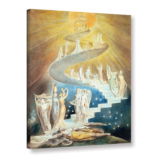 Brushstone Jacob's Ladder Gallery Wrapped Canvas Wall Art