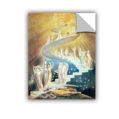 Brushstone Jacob's Ladder Removable Wall Decal