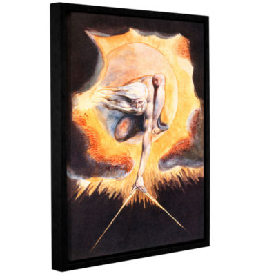 Brushstone The Ancient of Days Gallery Wrapped Floater-Framed Canvas Wall Art
