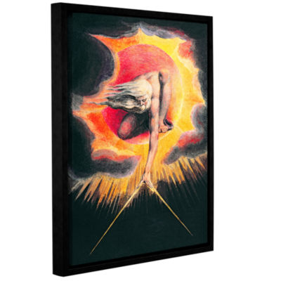 Brushstone The Ancient of Days II Gallery WrappedFloater-Framed Canvas Wall Art