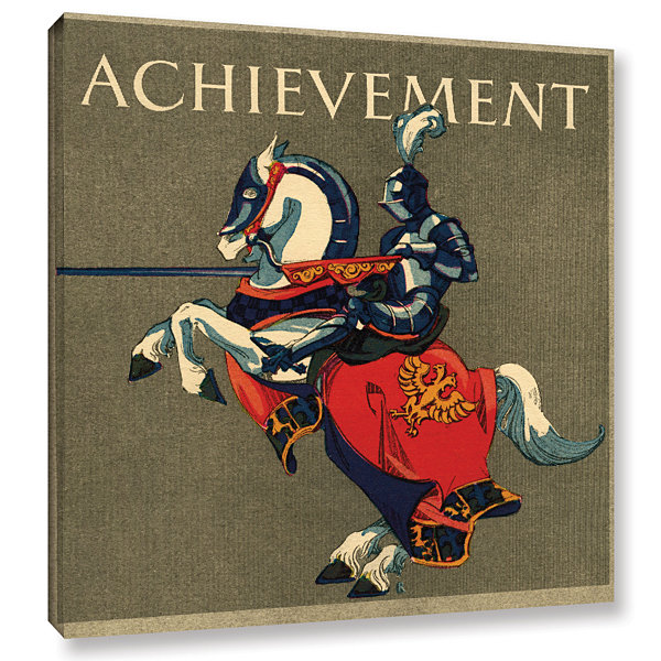 Brushstone Achievement Illustration  1923 GalleryWrapped Canvas Wall Art