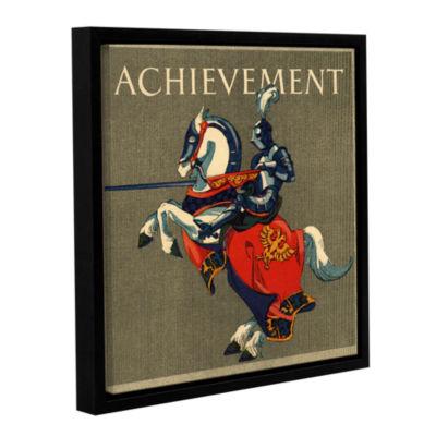 Brushstone Achievement Illustration  1923 GalleryWrapped Floater-Framed Canvas Wall Art