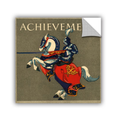 Brushstone Achievement Illustration  1923 Removable Wall Decal