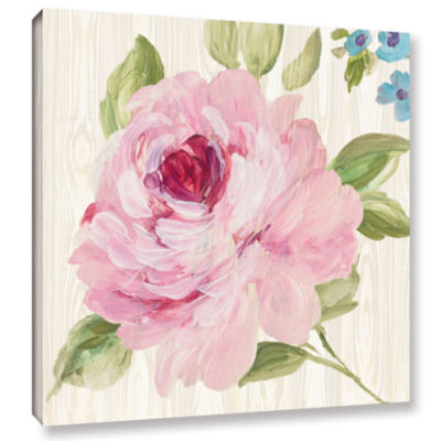 Brushstone Driftwood Garden IV Gallery Wrapped Canvas Wall Art