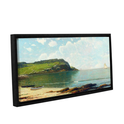Brushstone Summer Sailing Gallery Wrapped Floater-Framed Canvas Wall Art