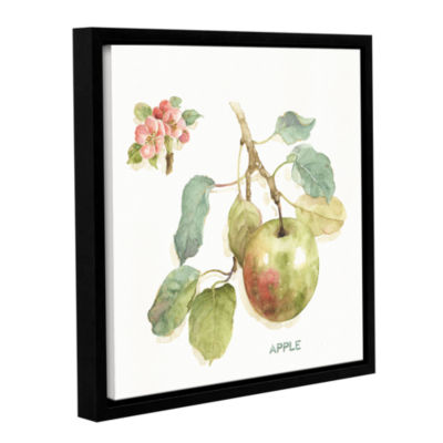 Brushstone Orchard Bloom I Gallery Wrapped Floater-Framed Canvas Wall Art