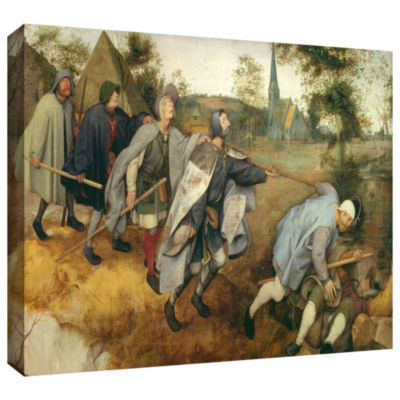 Brushstone Parable of The Blind Gallery-Wrapped Canvas Gallery Wrapped Canvas Wall Art