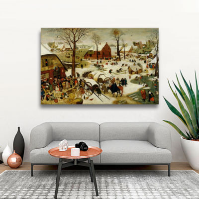 Brushstone The Census at Bethlehem Gallery WrappedCanvas Wall Art