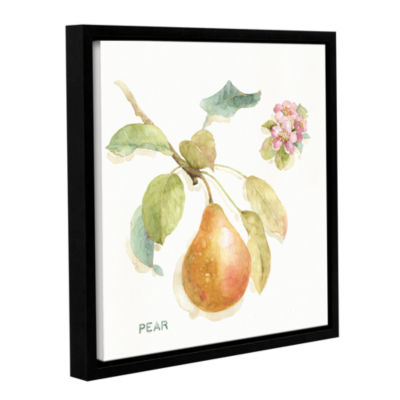 Brushstone Orchard Bloom II Gallery Wrapped Floater-Framed Canvas Wall Art
