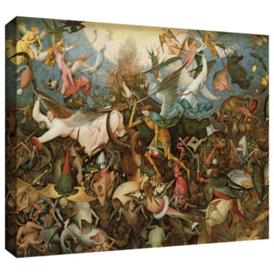 Brushstone The Fall of The Rebel Angels Gallery Wrapped Canvas Wall Art