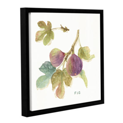 Brushstone Orchard Bloom III Gallery Wrapped Floater-Framed Canvas Wall Art
