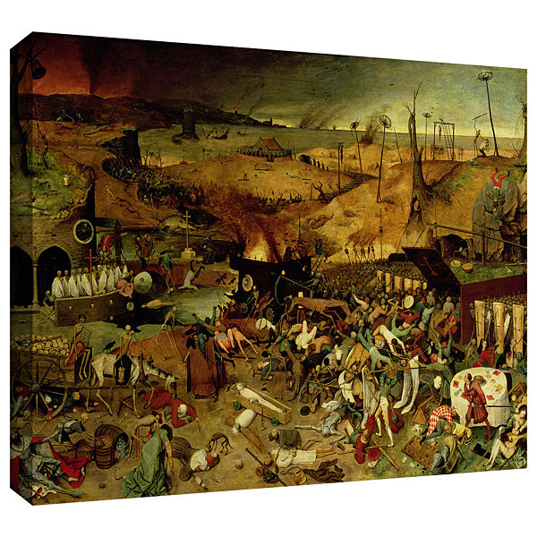 Brushstone The Triumph of Death Gallery Wrapped Canvas Wall Art